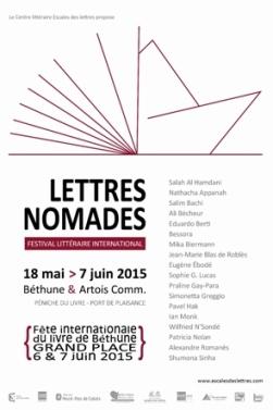 voir le programme des Lettres nomades