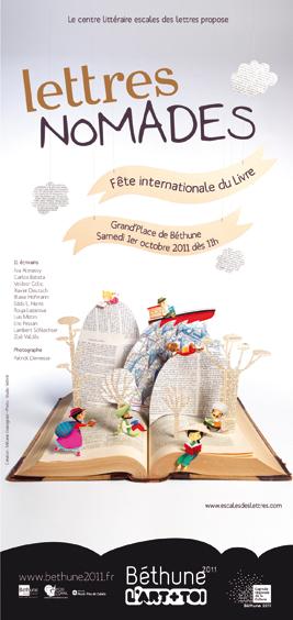 Fête internationale du livre - Lettres nomades : l'évènement littéraire de Béthune 2011