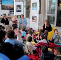 Conte, exposition, atelier, pleins d'animations pour les enfants de 4 à 12 ans